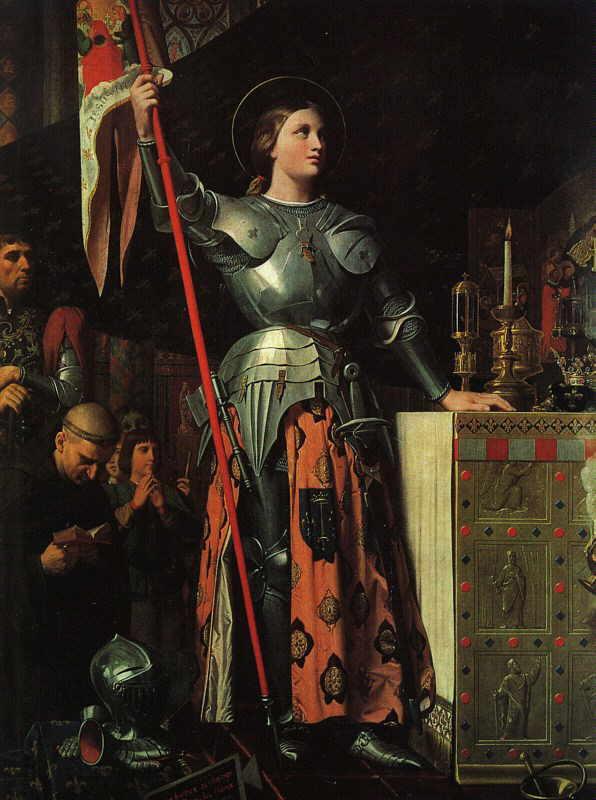 Jeanne d'Arc est sans nul doute l'un des symboles français les plus forts. On a écrit à son sujet, on l'a mise derrière une caméra, on en a fait des portraits, des statues... Mais au final, qui est réellement Jeanne d'Arc ?