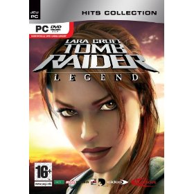 Lara Croft dans Tomb Raider Legend (PC)