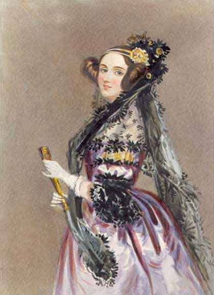 La belle Lady Ada Lovelace Byron