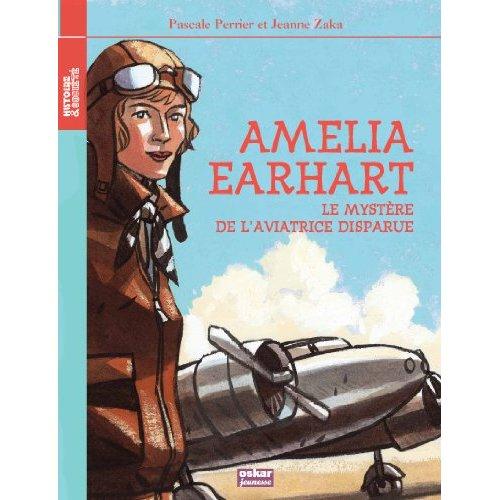 Les aventures de l'aviatrice dans une édition pour les enfants