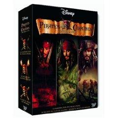 Pirates des Caraïbes, l'intégrale en dvd