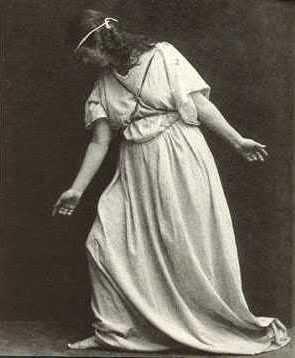 Isadora, sur scène...