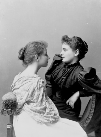 Helen Keller et Anne dans leur jeunesse