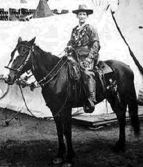 Calamity Jane, excellente cavalière
