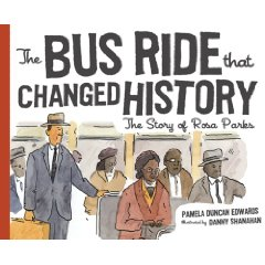 The bus ride that changed history, un album destiné aux enfants pour les sensibiliser à l'histoire de Rosa Parks