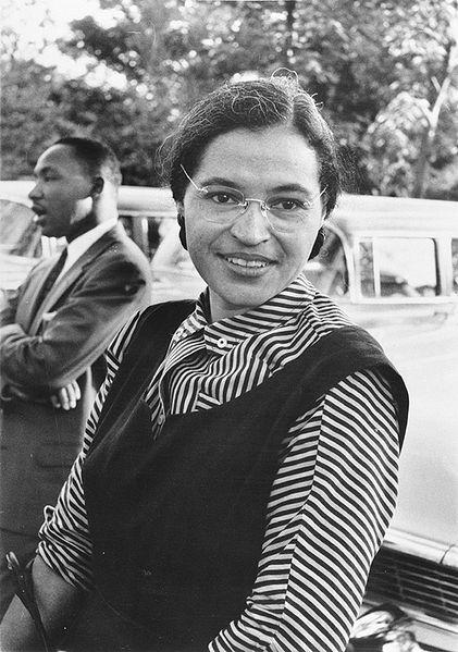 Rosa Parks, avec Martin Luther King dans son ombre...